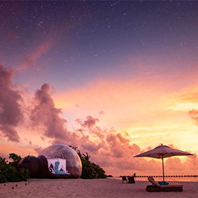 Bubble Tent Finolhu Best Things To Do In The Maldives Maldives Honeymoons