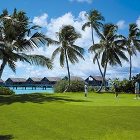Golf In The Maldives At Shangri La Villingili Best Things To Do In The Maldives Maldives Honeymoons