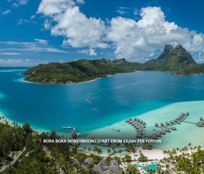 a picture of Bora Bora