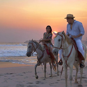 Horse Riding On The Beach Best Things To Do In Bali Bali Honeymoons
