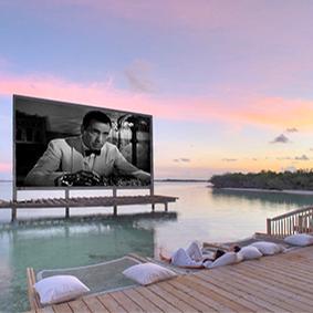 Soneva Jani Cinema Best Things To Do In The Maldives Maldives Honeymoons