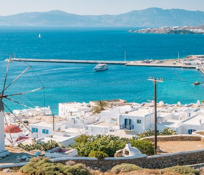 a picture of Mykonos