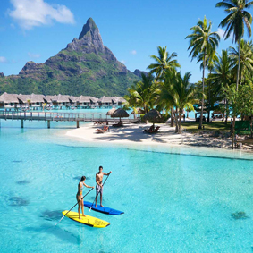 InterContinental Bora Bora Resort Thalasso Spa Top Honeymoon Resorts Honeymoon Packages
