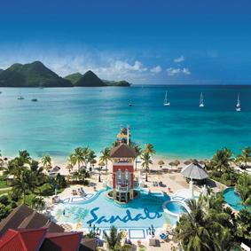 Sandals Grand St Lucian1 Top Honeymoon Resorts Honeymoon Packages