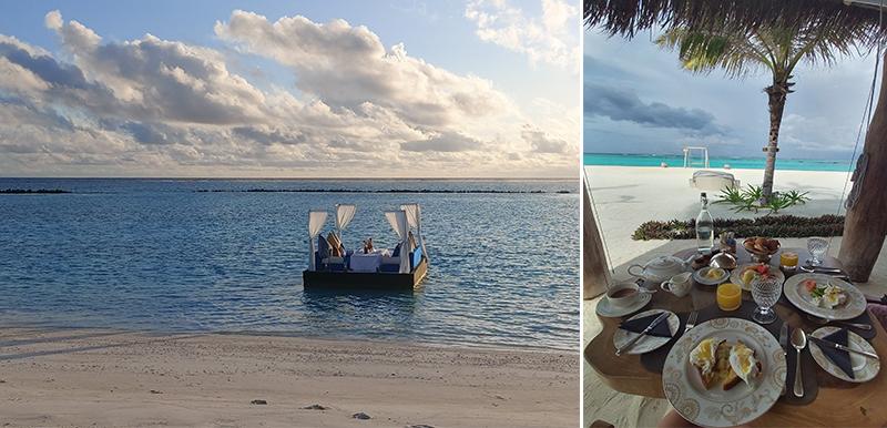 Tia And Chris's Amazing Maldives Honeymoon You&Me Maldives Honeymoon Dining1