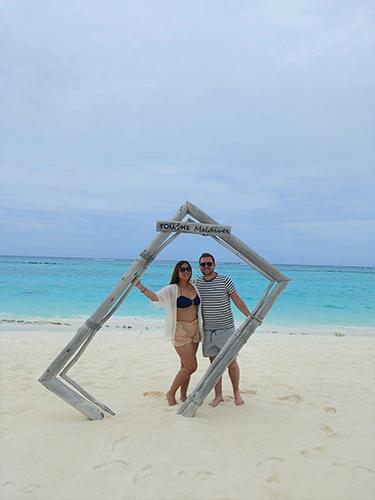 Tia And Chris's Amazing Maldives Honeymoon You&Me Maldives Honeymoon Honeymoon Couple
