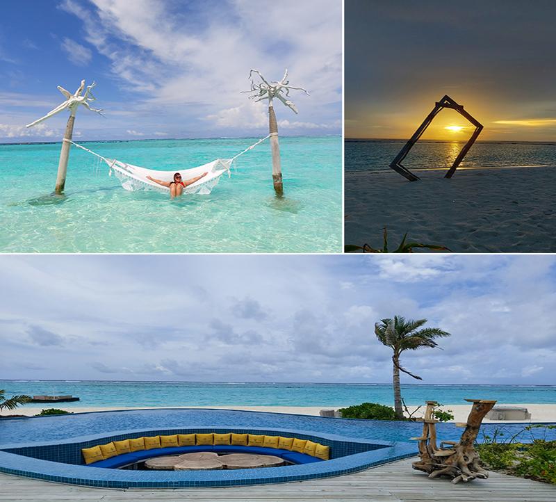 Tia And Chris's Amazing Maldives Honeymoon You&Me Maldives Honeymoon Pool And Beach