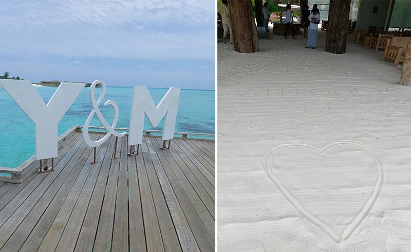 Tia And Chris's Amazing Maldives Honeymoon You&Me Maldives Honeymoon Welcome Copy